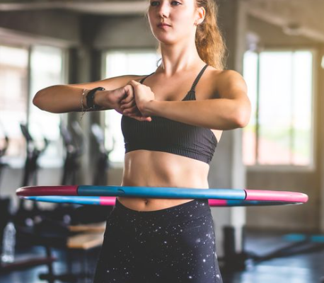 How to lose weight with a hula hoop